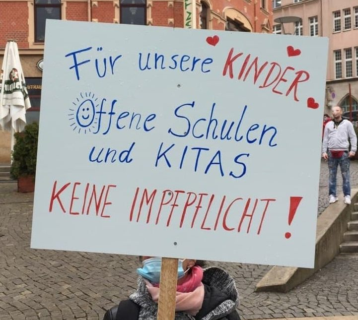 Demonstration in Plauen am 04.03.2021
