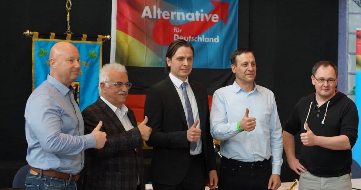 Mathias Weiser als Direktkandidat der AfD Vogtland für die Bundestagswahl gewählt.